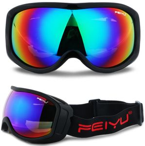 Snowboardbrille Schneebrille Schutzbrille fürSkifahren Bergsteigen und Radfahren