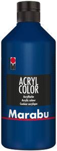 Marabu Acrylfarbe Acryl Color 500 ml dunkelblau 053