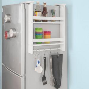SoBuy® Hängeregal für Kühlschrank, Kühlschrank organizer set,Wandregal , FRG149-W