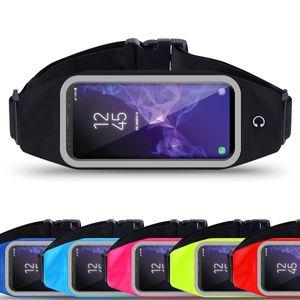 Handy Tasche Bauchtasche Hüfttasche Smartphone Sport Waist Hülle Case Jogging , Farben:Schwarz, Handy Modelle für:Huawei Mate 8