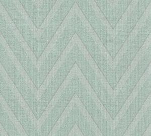 Livingwalls Vliestapete Hygge Tapete blau grün 10,05 m x 0,53 m 363844 36384-4