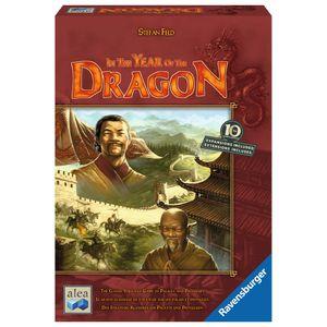 RAVENSBURGER Brettspiel In the Year of the Dragon Erwachsenenspiel Strategie