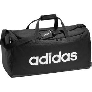 Adidas Lin Duffle L Black/Black/White -