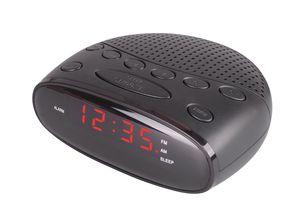 Radiowecker Uhrenradio Wecker mit Sleep Timer, Snooze und LED Display