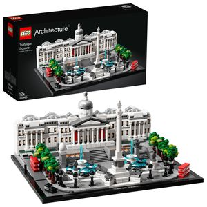 LEGO 21045 Architecture Trafalgar Square, Modellbausatz für Kinder und Erwachsene, perfektes London Souvenir & Set zum Stressabbau