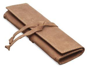 Packenger Ledertasche Schlampermäppchen Pencil Case Lambi