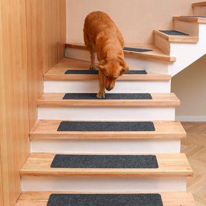 15Stück Anti Rutsch Schritt Matten Treppe Selbstklebende Schritt Teppich