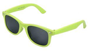 Kinder Wayfarer Sonnenbrille Neongrün