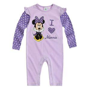 Disney Minnie Babyanzug violett