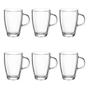 montana: :enjoy Espressotasse, 6er Set, Espressoglas, Kaffeeglas, Espresso Tasse, Glastasse, Glas, 40 ml, 060993