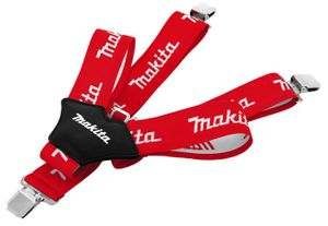 Makita Hosenträger mit Clips, längenverstellbar, One Size