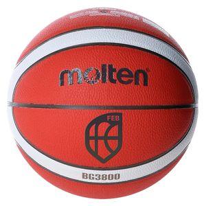 molten BG3800 indoor outdoor Basketball FIBA Synthetik Leder GMX BGMX, Ballgröße:6