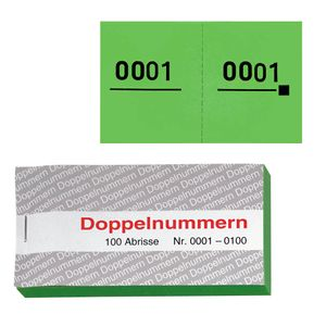 WOLF & APPENZELLER Doppelnummern, grün