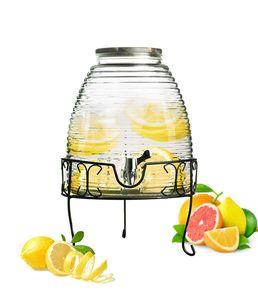 XXL Getränkespender 9 Liter Zapfhahn Ständer Wasserspender Saftspender Dispenser