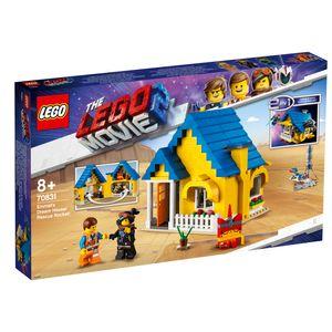 The LEGO Movie™ 2 Emmets Traumhaus/Rettungsrakete!, 70831