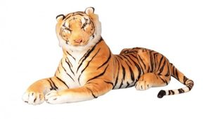 Brauner Tiger XXL Plüschtier 1,10 m Kuscheltier Softtier