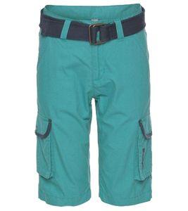 Bench. Freizeit-Bermuda bequeme Kinder Sommer-Shorts mit Canvasgürtel Petrol, Größe:182