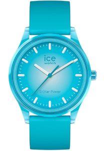 Ice-Watch 017769 Armbanduhr Solar Blue Planet M Türkis