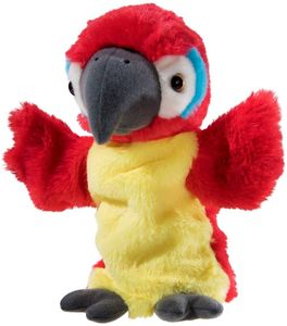 Heunec Friends4ever Handspielpuppe Papagei 394377 - Handpuppe Papagei 25cm