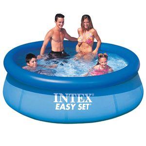 Intex Easy Set Swimming Pool Schwimmbecken rund 244 x 76 cm 28112GN