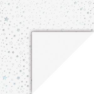 "Motivkarton ""Sterne"", 50 x 70 cm Silber"