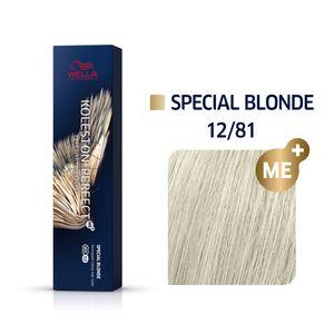 Wella Professionals Koleston Perfect Me+ Special Blonde Professionelle permanente Haarfarbe 12/81 60 ml