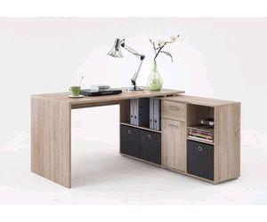 FMD Möbel LEX 1, Schreibtisch, Eiche Nb, 353-001