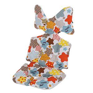 Kinderwagen Sitzauflage Babyschale Kindersitz Babyschale Kinder Sitzkissen Sitzbezug Sitzeinlage Sitzauflage, Muster: Bunter Stern