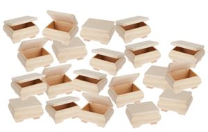20 Holzkästchen, bauchig, 11 x 8 x 6 cm, VBS Großhandelspackung