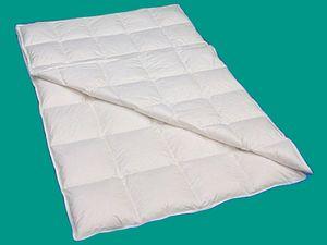 4 Jahreszeiten Bettdecke 155x220 Daunendecken Komfortgröße 90% Daune