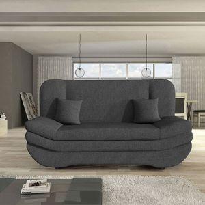 Mirjan24 Schlafsofa Weronika, Polstersofa mit Bettkasten, Stilvoll Couch (Boss 12)