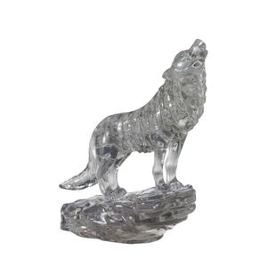 Crystal Puzzle 3D - schwarzer Wolf 37 Teile 59181