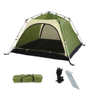 Automatisches Sofortzelt - tragbares Campingzelt - for 2 Personen - wasserdicht, UV-Schutz, Sonnenschutz - Tragetasche inklusive