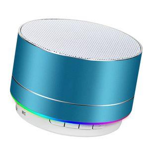 Lautsprecher für Handy: Mobiler Aktiv-Lautsprecher mit Bluetooth 5.0, Metallgehäuse, 5 Watt (Mini Lautsprecher, Bluetooth)
