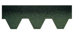 Bitumenschindeln Dachschindeln Hexagonal Schindel Dachpappe Bitumen Glasvlies grün 3,00 m²