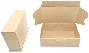 verpacking 50 Maxibriefkartons Versandkartons Faltschachtel Faltkarton Maxibrief 160 x 110 x 50 mm   Braun   MB-1