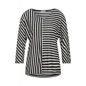 Street One Damen Langarmshirt A316622 Black