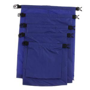 5 Teiliges Packsack Set Wasserdichter Packsack Packsack Farbe Blau