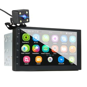 "AUDEW 7"" 2 Din Auto MP5-Player für Android 8.0 2.5D Bildschirm GPS WIFI FM & Rückfahrkamera"