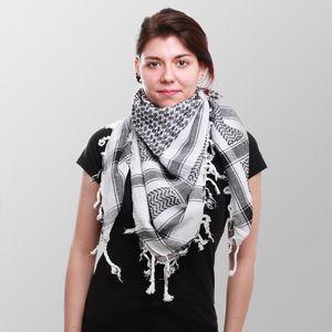 Pali Tuch - Schal - Palästinensertuch - Kopftuch - Halstuch - Kufiya - weiß