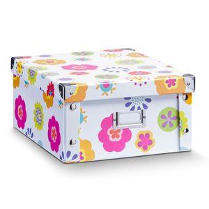 """Zeller Aufbewahrungsbox """"Kids"""", Pappe 31x26x14"""