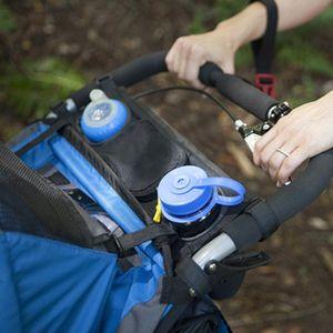 Universal Buggy Baby Kinderwagen Organizer Flasche Halter Kinderwagen Caddy Lagerung Tasche Net