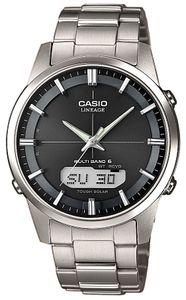 Casio Funkuhr Titan Analog-Digital Datum Solar Armbanduhr LCW-M170TD-1AER