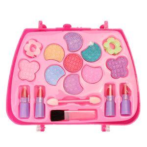 Kinderkosmetik, Prinzessin Make-up-Box-Set, Mädchen Spielzeug, Pink