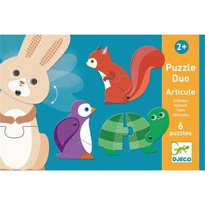 DJECO Lernspiele: Puzzle duo/trio: