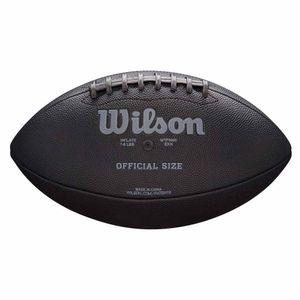 Wilson Nfl Jet Black Official Size Fb Black -