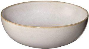 ASA Schale, sand                   SAISONS D. 15 cm, H. 5 cm, 0,35 l. 27303107  Vorteilsset beinhaltet 6 x den genannten Artikel und Set mit 4 EKM Living Edelstahl Strohhalme