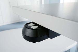 Xanten Three Schreibtisch, elektrische Höhenverstellung, Eiche, Größe Tischplatte:160 x 80 cm