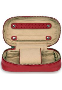 WINDROSE Soft Jewelry and Watch Box Red