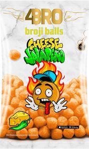 10x 75g 4BRO Broji Balls Cheese-Jalapeno